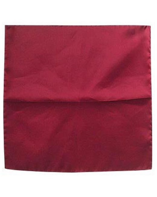 FORZIERI | Red Cranberry Silk Pocket Square | Lyst
