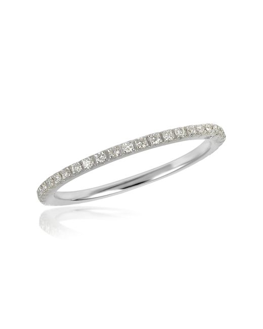 FORZIERI | 0.27 Ctw Diamond 18k White Gold Eternity Band | Lyst