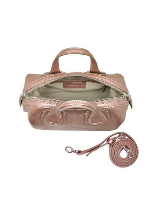 Givenchy Nightingale Micro Light Pink Leather Satchel Bag . 157868f6ba7f5