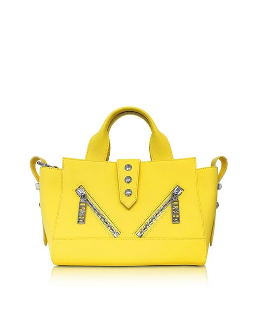 KENZO | Yellow Mini Kalifornia Bag | Lyst