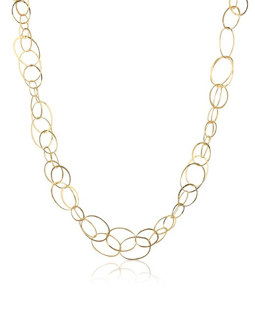 Orlando Orlandini | Scintille - 18k Yellow Gold Chain Necklace | Lyst