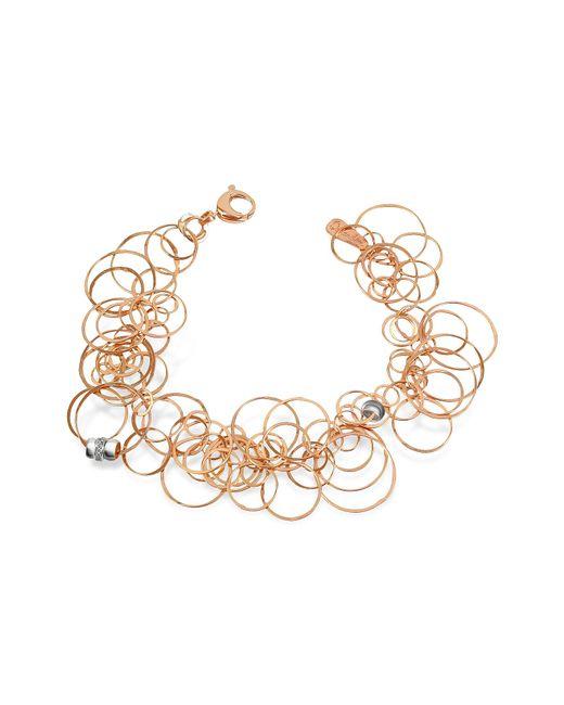 Orlando Orlandini | Pink Scintille - Diamond 18k Rose Gold Bracelet | Lyst