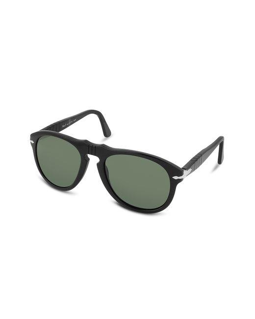 Persol | Black Arrow Signature Aviator Plastic Sunglasses | Lyst