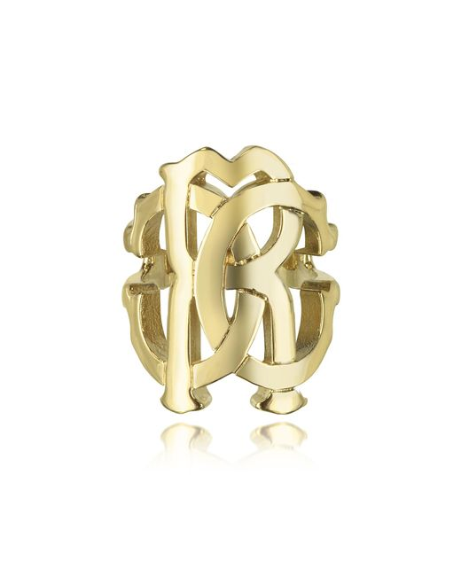 Roberto Cavalli - Metallic Rc Lux Gold Tone Ring - Lyst