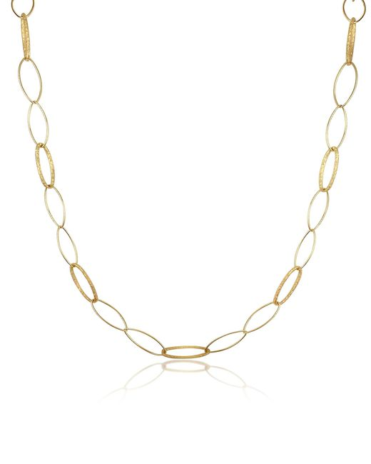 Torrini | Marina - 18k Yellow Gold Oval Link Necklace | Lyst