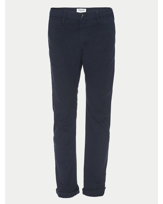 FRAME | Blue L'homme Skinny Chino Raw Edge for Men | Lyst