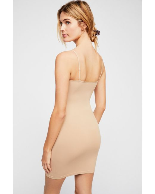 cd9cf34dcfeb Free People - Natural Seamless Mini By Intimately - Lyst ...