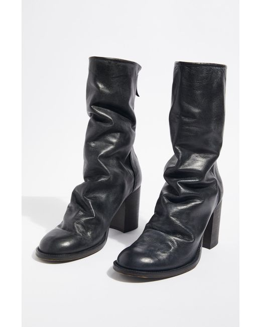 Free People - Black Elle Block Heel Boot By Fp Collection - Lyst