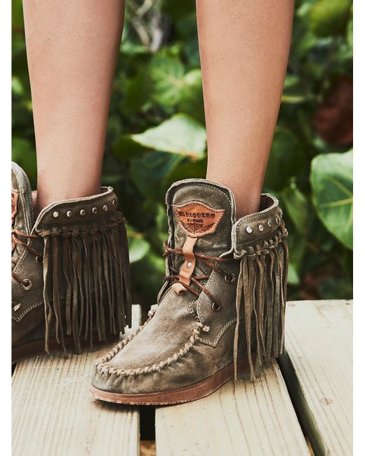 Free People | Multicolor Roseland Moccasin Boot | Lyst
