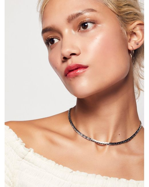 Free People | Multicolor Essential Chain Choker | Lyst