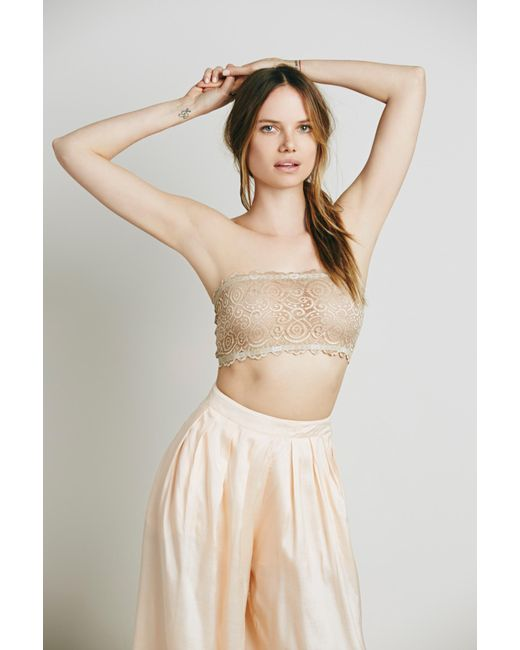 ... Free People - Multicolor Seamless And Lace Reversible Bandeau By  Intimately - Lyst ... 613df02e8