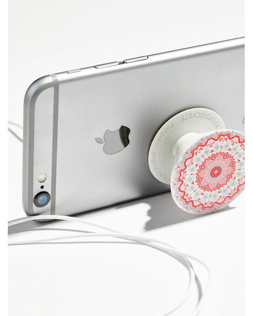 Free People | Gray Pop Socket Phone Mount | Lyst