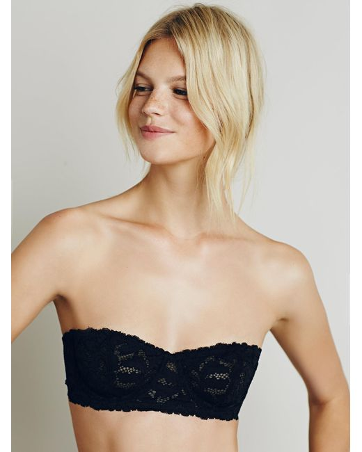 Free People - Black Love Letters Convertible Bra - Lyst