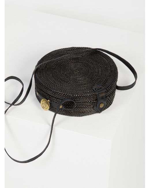 Free People - Black Sol Crossbody Bag - Lyst
