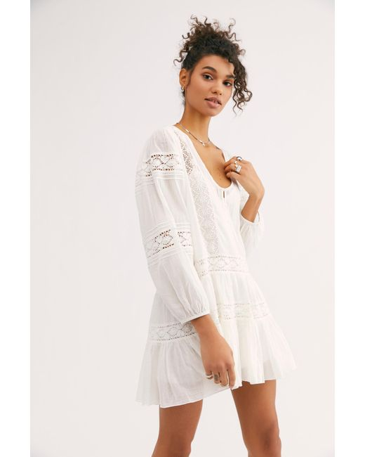 f190fcb1bc70 Free People - White Fp One Glow Dress - Lyst ...