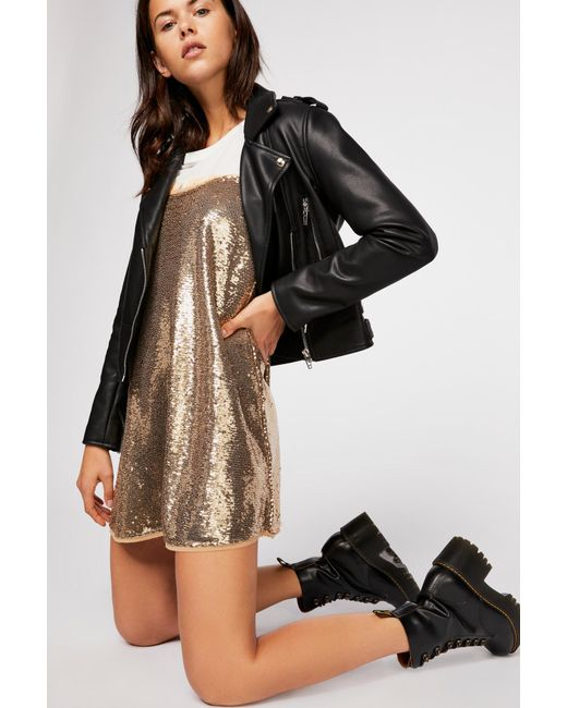 Free People - Metallic Time To Shine Slip By Intimately - Lyst