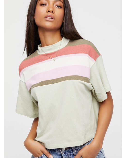 Free People | Multicolor Need You Printed Tee | Lyst