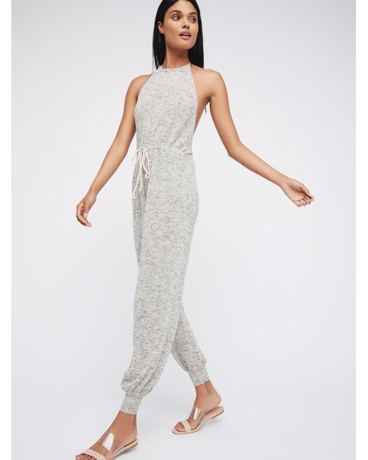 Free People | White Walk On A Beach One-piece | Lyst