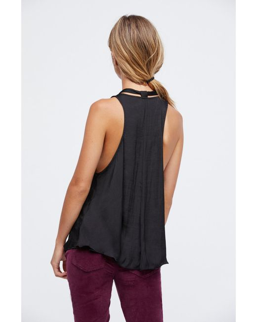 Free People - Black Here With Me Cami By Intimately - Lyst