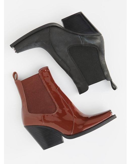 Free People - Brown Surrey Chelsea Boot - Lyst