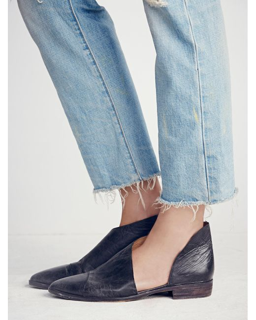 Free People - Black Royale Flat - Lyst