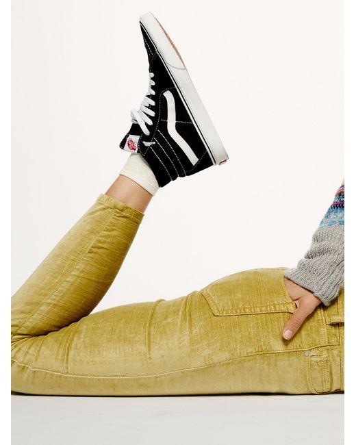 Free People   Black Vans Sk8-hi Top Sneaker   Lyst