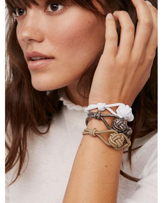 Free People | Brown Knot Hair Ties | Lyst