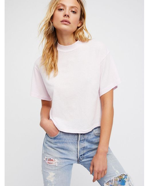 Free People   White Need You Tee   Lyst
