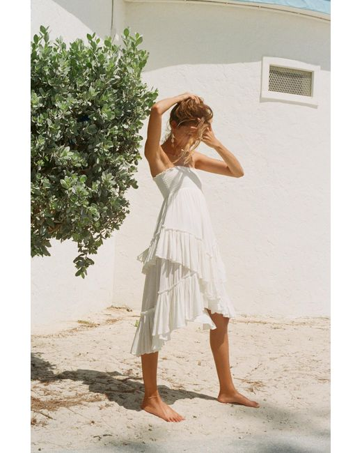 e798fefebf68 Free People - White Convertible Skirt By Endless Summer - Lyst ...