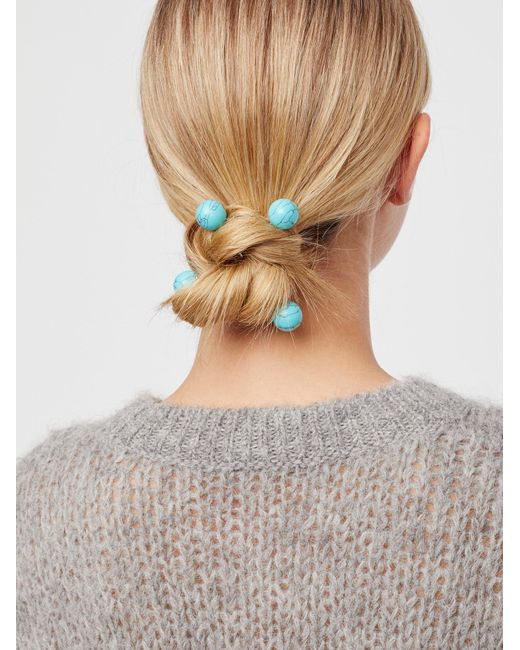 Free People | Multicolor Criss Cross Hair Pins | Lyst