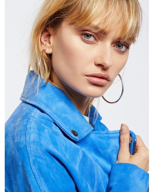Free People | Metallic Accessories Jewelry Earrings Hoop Earrings Essential Tube Hoops | Lyst