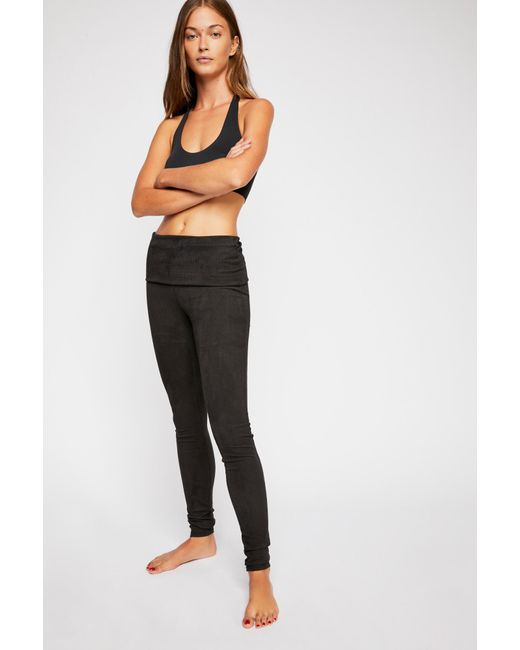 Free People - Black Khordney Legging By Intimately - Lyst