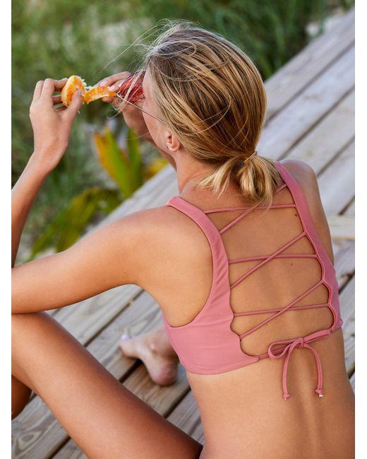 Free People | Multicolor Petty Bralette Bikini Top Joplin Everyday Bikini Bottom | Lyst
