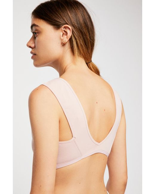 Free People - Natural Peyton Bralette - Lyst