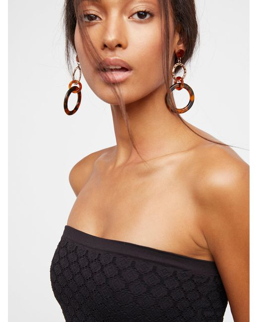 Free People - Black Honey Textured Tube - Lyst