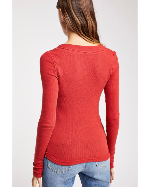 Free People - Red We The Free Call Me Cardi - Lyst