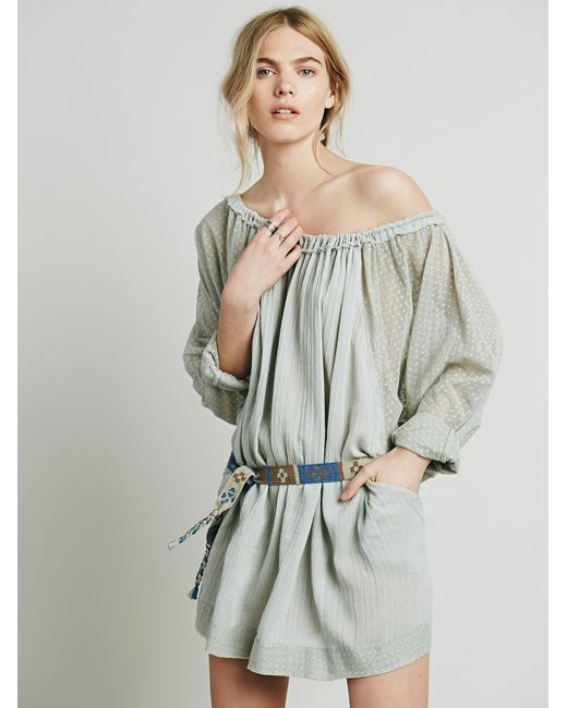 Free People | Multicolor Beach Dreamin Tunic | Lyst