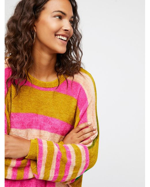 Free People | Multicolor All About You Pullover | Lyst