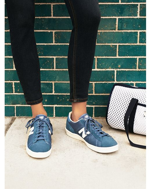 Free People | Blue Court Trainer | Lyst
