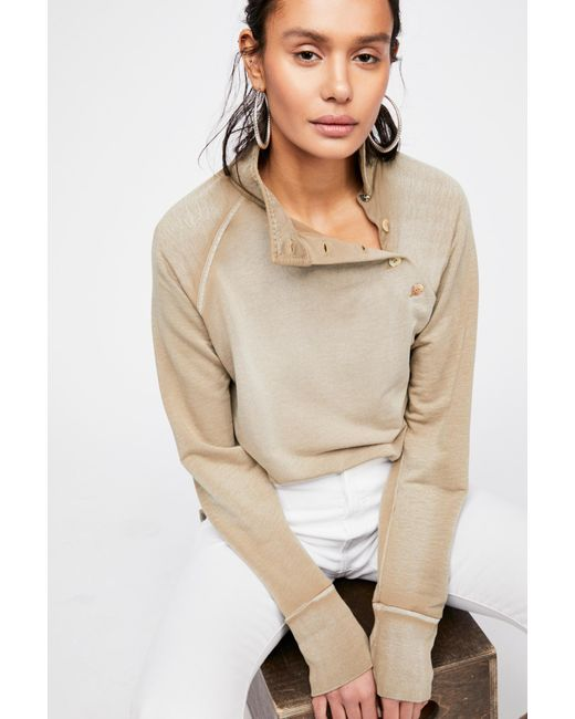 Free People - Green I Can Be Your Pullover - Lyst