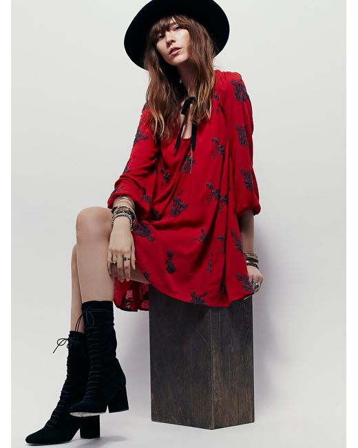 Free People   Embroidered Austin Dress   Lyst