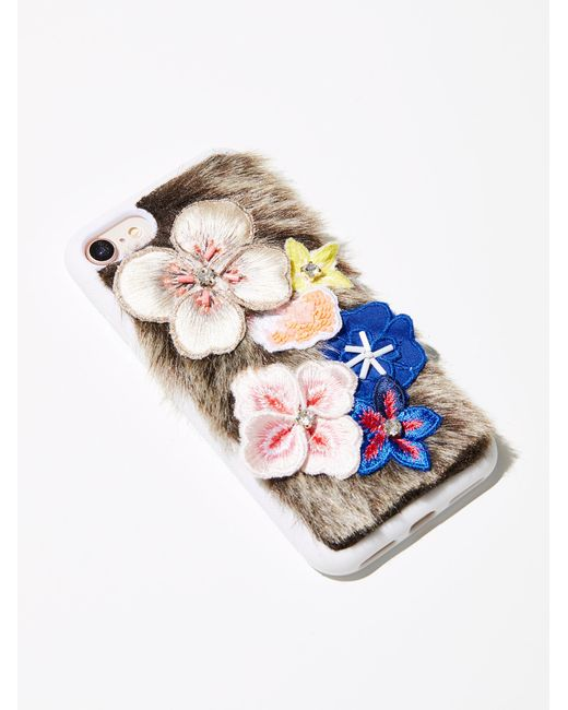 Free People   Multicolor Field Of Flowers Iphone Case   Lyst