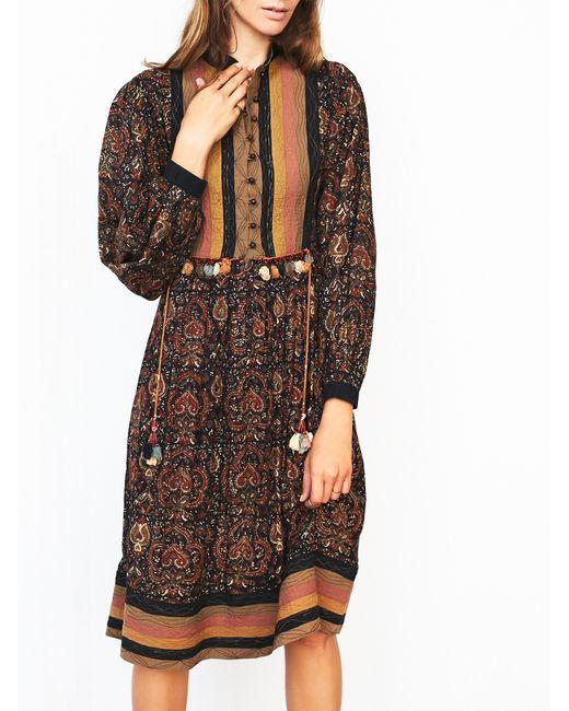 Free People | Multicolor Fp Vintage 70s Boho Printed Dress | Lyst