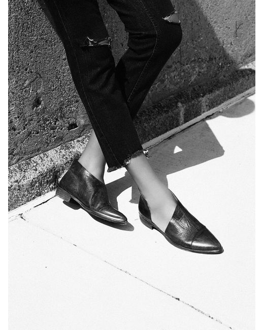 Free People | Black Royale Flat | Lyst