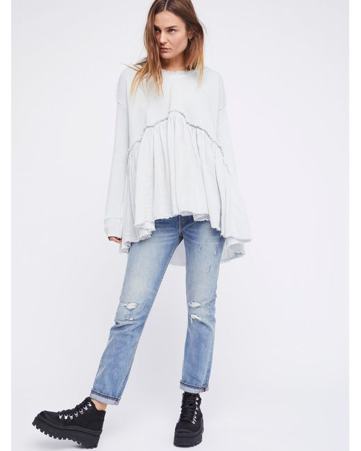 Free people Summer Dreams Pullover in White