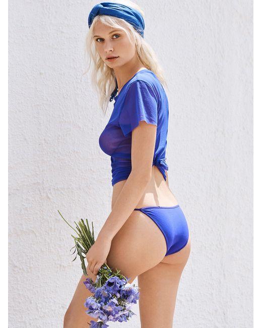 Free People | Multicolor Super Skinny Bikini | Lyst