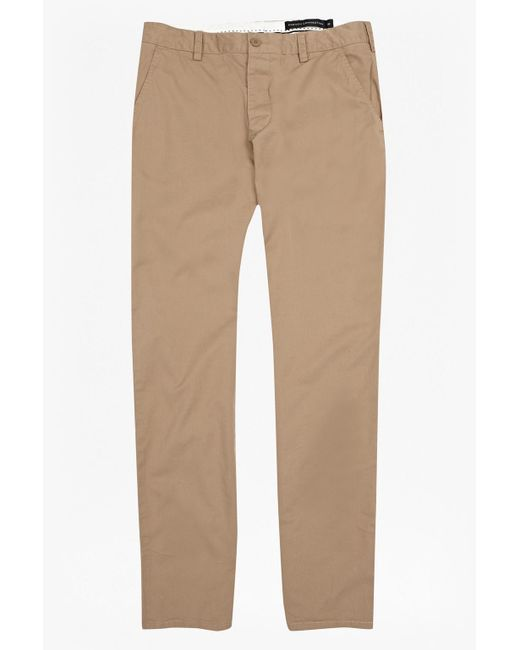 French Connection | Natural Machine Gun Chinos | Lyst