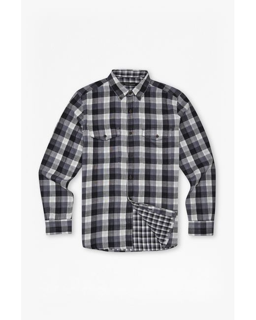 French Connection | Black Wilton Country Plaid Shirt for Men | Lyst