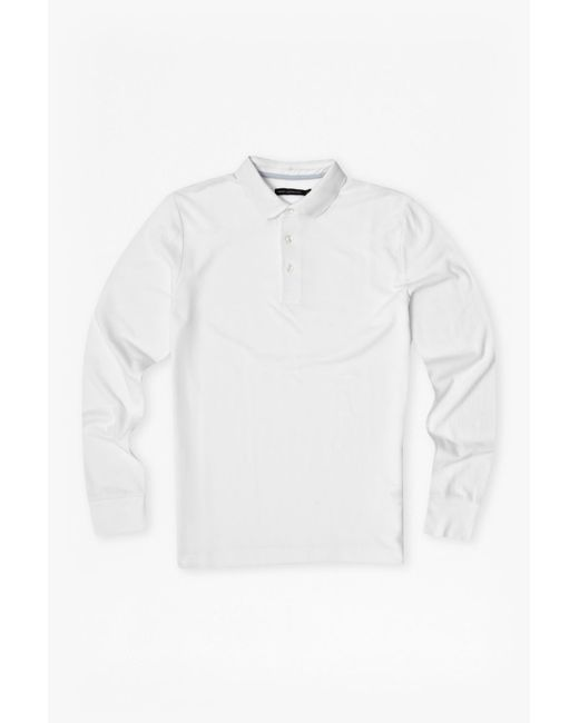 French Connection | White Brunswick Plain Marlon Polo Shirt for Men | Lyst