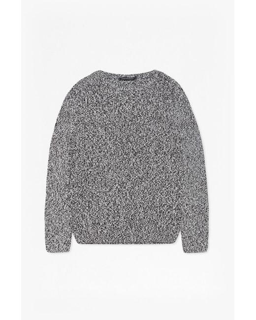 French Connection | Black Ska Knitted Jumper for Men | Lyst